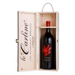 Magnum di Carline Rosso in cofanetto di legno