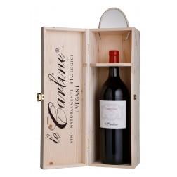Magnum di Cabernet Franc Cantastorie in cofanetto di legno
